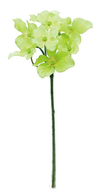 ハイドランジアピック GREEN(造花 花材 アートフラワー)