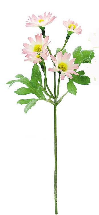 デイジーピック PINK(造花 花材 アートフラワー)