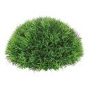 【人工観葉植物】屋外対応 20cmグリーングラスハーフボール ツートングリーン 【観葉植物 造花 フェイクグリーン 光触媒 CT触媒 インテリア】[G-L]