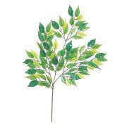 【人工観葉植物】ハワイアンフィカススプレイ 【観葉植物 造花 フェイクグリーン 光触媒 CT触媒 インテリア】[G-L]