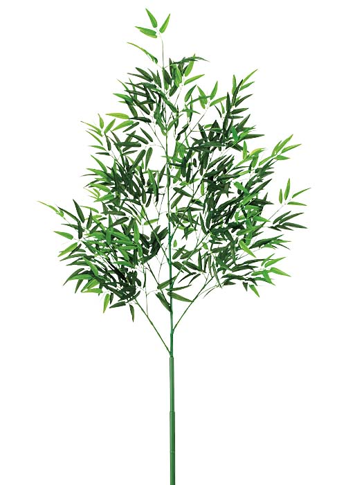 【送料無料】210cm七夕用竹(2分割式)【観葉植物 造花 CT触媒/光触媒 フェイクグリーン】[D-F] ★リニューアル★枝葉が立派になりました