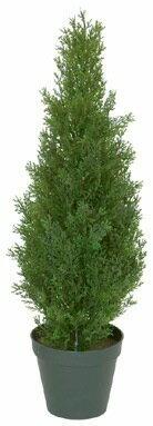 【送料無料】75cmコニファーツリー(プラスチック)(グリーン)【観葉植物 造花 SC(CT)触媒・光触媒 フェイクグリーン】[G-L]