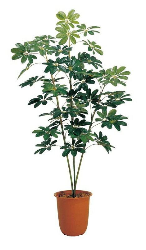 150cmカポックツリー(シェフレラ)【観葉植物 造花 CT触媒/光触媒 フェイクグリーン】[D-F]