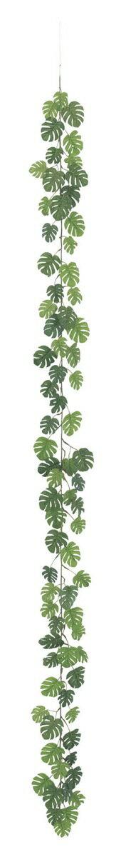 ミニスプリットフィロガーランド(ワイヤー入)《BC付》 [LEG-3082]【観葉植物 造花 CT触媒/光触媒 フェイクグリーン】[G-L]