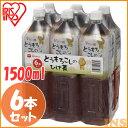 とうもろこしのひげ茶 1500ml×6本(シュリンクパック) アイリスオーヤマ