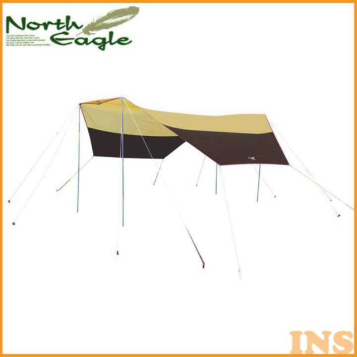 ノースイーグル 4ポールヘキサゴンタープ