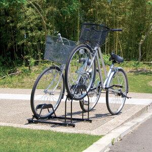 【タイムセール!!】自転車スタンドBYS-2あす楽対応送料無料自転車ラック自転車収納バイクサイクル自転車置き場サイクルガレージサイクル収納バイク屋外収納駐車場