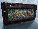 バリ絵画 ソキ バリアート バリ島の名画が 格安で販売中バリ島のヒロヤマガタソキSOKI (I Ketut SOKI) 送料無料 新生活