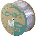 ショッピングサンヨー サンヨー 透明ホース10×12 100mドラム巻 TM1012D100T