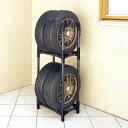 【軽自動車用】タイヤラック KTL-450[パイプラック タイヤ保管ラック タイヤ交換 タイヤ収納グッズ アイリスオーヤマ カー用品]【RCP】