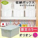 収納ボックス フタ付き シンプル おしゃれ オシャレ 小物 限定カラー オリオン L【日本製】