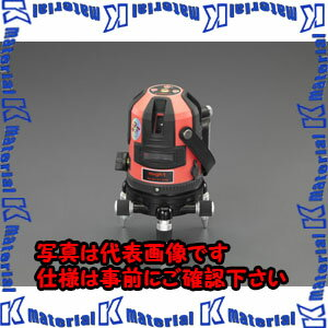 【P】ESCO(エスコ) レーザー墨出し器(三脚・受光器付) EA780MA-2