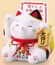 【スーパーセールポイントUP!】 彩絵大当り招き猫(宝くじ入れ・貯金箱) 10P03Dec16
