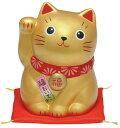 【スーパーセールポイントUP!】 錦彩福おいで招き猫(中・金) 10P03Dec16