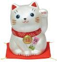 【スーパーセールポイントUP!】 錦彩福おいで招き猫(中・銀) 10P03Dec16