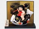 五月人形 コンパクト 陶器 小さい 鯉のぼり/ 錦彩鯉のぼり金太郎(鉞かつぎ) /こどもの日 端午の節句 初夏 お祝い 贈り物 プレゼント