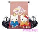 雛人形 コンパクト 陶器 小さい 可愛い ひな人形/ ハローキティ 雛祭りセット /ミニチュア 初節句 お雛様 おひな様 雛飾り