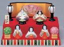 【送料無料】陶器のぬくもりが感じられる繊細でやさしい雛人形3月3日到着は2月26日注文分まで!彩絵てまり雛(段飾り)
