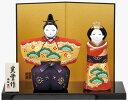 雛人形 コンパクト 陶器 小さい 可愛い ひな人形/ 錦彩万...