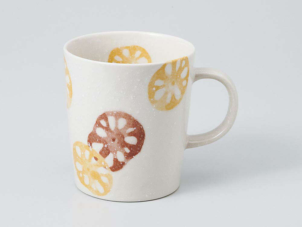 コーヒー カップ コップ/ レンコン 茶マグ /業務用 家庭用 人気 ギフト 贈り物 カフェ れんこん おしゃれ かわいい インスタ