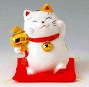 財福招き猫 福槌(磁器)