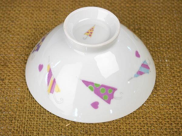 白磁パラソルお茶碗