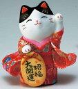 錦彩ちりめん小判招き猫(招福)