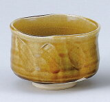 抹茶碗,茶具] [濑户黄碗(陶瓷工作视图)(星期四)[黄瀬戸茶碗(景陶作)(木)]