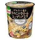 ショッピングパスタ 味の素 「クノール スープDELI」ポルチーニ香るきのこのクリームスープパスタ(容器入) 43.5g×48袋