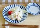 【楽天最安値に挑戦】染付け十草 中皿 16.5cm【濃十草 ダミ十草 和食器 藍 美濃焼 めいめい皿