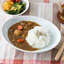 洋食器 オーバルボウル 26cm 【白い食器 カレー皿 カレ...