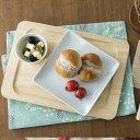 角皿 正方形 16.4cm 日本製 陶器 食器 洋食器 白い食器 ホテル食器 レストラン食器 カネスズ kanesuzu プレート マルチプレート スクエアプレート 小皿 角皿 取り皿 盛り皿 四角 シンプル カフェ風 おしゃれ 業務用