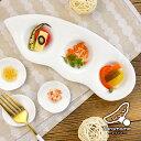 三つ仕切りプレート 24.5cm miyama 深山 A級品 日本製 美濃焼 陶器 食器 白い食器 白磁 白色 スパイストレー 薬味皿 前菜皿 仕切り皿 調味料入れ トレイ おうちカフェ 北欧 おしゃれ シンプル 可愛い ポーセリンアート/キャッシュレス 還元