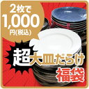 超お得!! 2枚で1000円ポッキリ 超大皿だらけ おまかせ...