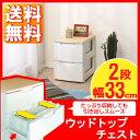 チェスト 2段 アイリスオーヤマ プラスチック厳選商品ポイント10倍&税込2,000円以上送料無料!