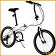 ≪送料無料≫WACHSEN(ヴァクセン) 20インチアルミ折りたたみ自転車6段変速付 WEHβ(ヴァイス) BA-101 【HW】【TD】【代引不可】