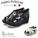 ファビオ ルスコーニ SOLE612 ウェッジサンダル 全2色 レディース