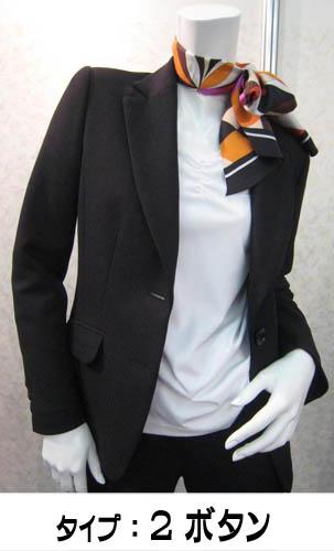 事務服 ジャケットユニフォーム 制服ブラック着丈を選べます!! 女子事務服,ユニフォーム,制服,スーツジャケット,ベスト,ブラウス,スカート,パンツなどの専門店♪※商品はすべて単品での販売です