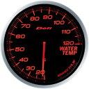デフィ(Defi) アドバンスBFメーター60φアンバーレッドモデル 水温計