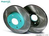Project μ 【プロジェクトミュー】ブレーキローター SCR Pure Plus6「塗装済タイプ」ユ-ノス・ロ-ドスタ- NA6CE [フロント]