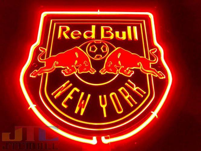 レッドブルのロゴ型のオシャレなネオン