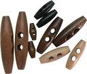 ダッフルボタン 木製B 30mm 5個入