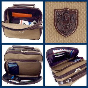 日本製豊岡製鞄ショルダーバッグ帆布コートメンズB5横型21cm仕様2