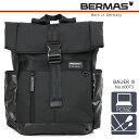 リュック バックパック BERMAS バーマス バウアー3 リュックサック 軽量 ビジネスバッグ メンズバッグ メンズ 通勤バッグ ブラック...