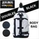 【送料無料】【シンプルCOOLなこだわりボディバッグ】DOUBLES BLACK ボディバッグ JPA-3001(送料込み・送料込) ボディバッグ 人気 ボディーバッグ
