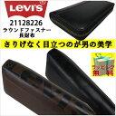 【財布】Levi's(リーバイス) ラウンドファスナー長財布...