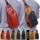 ボディバッグ メンズ DOUBLES バッグ ダブルス かばん レザー 本革 ショルダーバッグ ワンショルダー バッグ ボディーバッグ 斜めがけ YIX-1401 40代 おしゃれ かっこいい ペットボトル ギフト