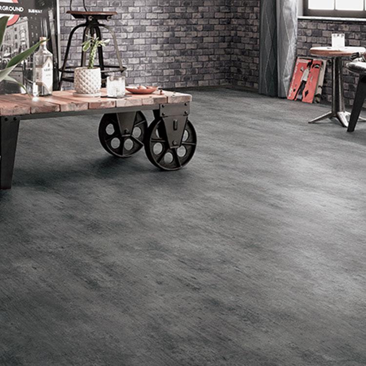 RoomClip商品情報 - 土足OK ハードタイプ クッションフロア クッションシート ストーン コンクリート サンゲツ(1m単位) SCM-4243※ご注文時は1mを【1】として数量欄に入力してくださいコンクリート