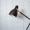 RoomClip商品情報 - 貼ってはがせるリメイクシート「Hatte me(ハッテミー)」モノクロタイル柄 ホワイト MNCT-01(65cm×1m).
