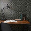 RoomClip商品情報 - 貼ってはがせるリメイクシート「Hatte me(ハッテミー)」モノクロタイル柄 ブラック MNCT-02(65cm×1m).